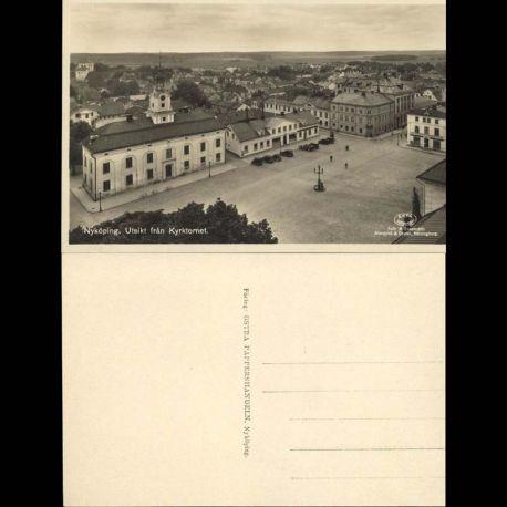 Suede - Nykoping - Utsikt fran Kyrktormet