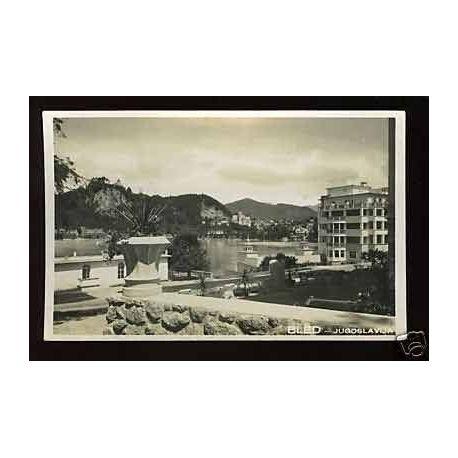 Yougoslavie - Bled - Vue du Grand Hotel toplice - 1932