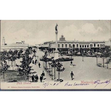 Uruguay - Montevideo - Plaza Libertad - 1906