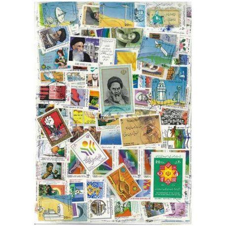 Iran - 50 timbres différents