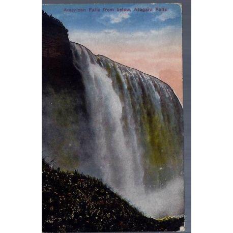 USA - American Falls from below - Niagara Falls