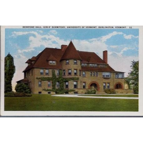 USA - Burlington Vermont Redstone Hall University