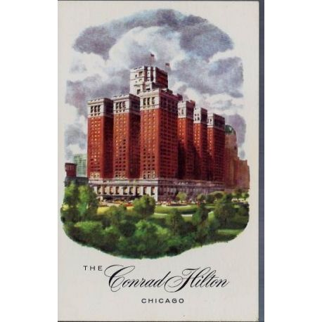USA - Chicago - The Conrad Hilton