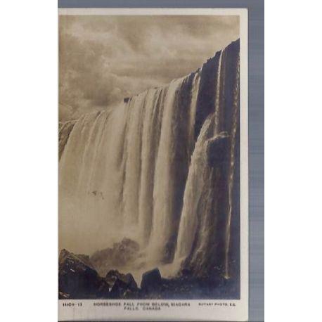 Canada - Horseshoe fall from bellow Niagara falls