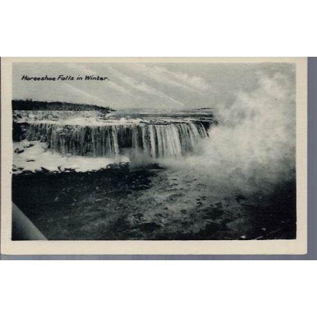 Canada - Horseshoe Falls in Winter