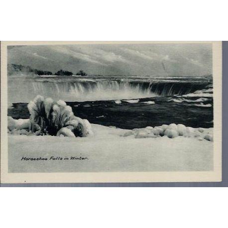 Canada - Horseshoe Falls in Winter - 2