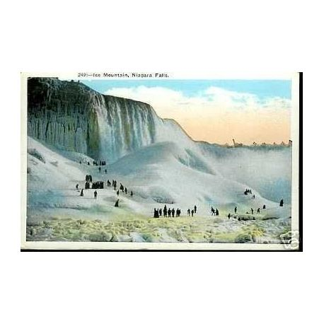 CANADA - ICE MOUNTAIN - NIAGARA FALLS