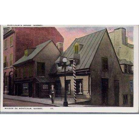 Canada - Maison de Montcalm - Quebec
