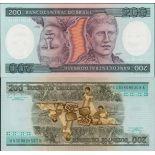 Billet de banque Bresil Pk N° 199 - 200 Cruzeiros