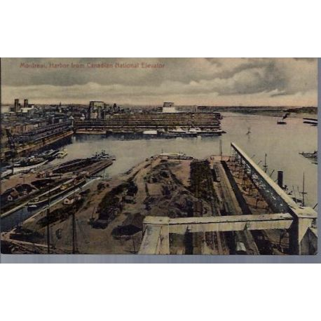 Canada - Montreal Harbor from Canadian National...