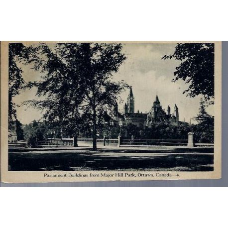 Canada - Ottawa - Parliament buildings