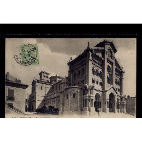 Monaco - La Cathedrale - Voyage - Dos divise