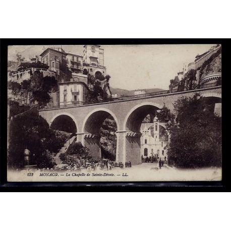 Monaco - la chapelle de Sainte-Devote - Voyage - Dos divise