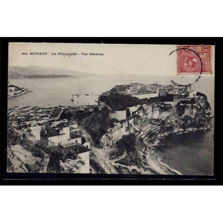 Monaco - La Principaute - vue generale - Voyage - Dos divise
