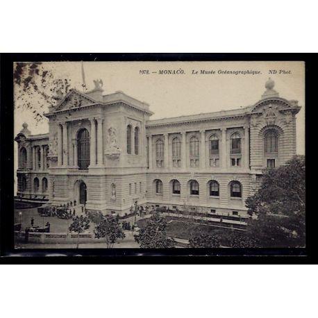 Monaco - Le Musee Oceanographique - Voyage - Dos divise