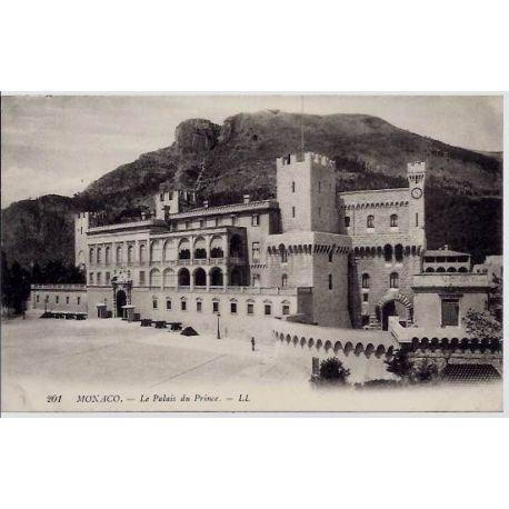 Monaco - Le palais du Prince - Non voyage - Dos divise
