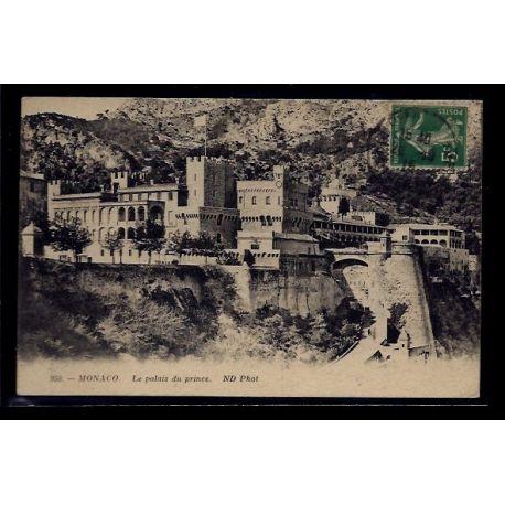Monaco - Le Palais du Prince - Voyage - Dos divise