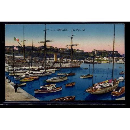 Monaco - le Port - Voyage - Dos divise