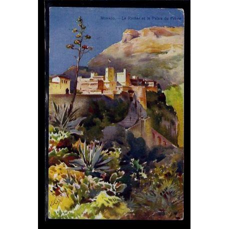 Monaco - le rocher et le Palais du Prince - Voyage - Dos divise
