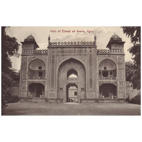 Inde - Agra - Gate of Etmad ud dowla