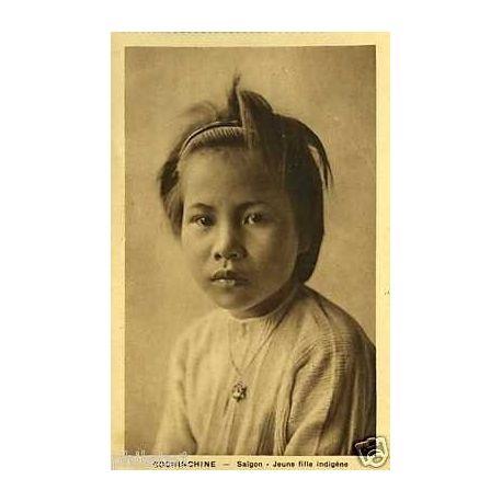 Cochinchine - Saigon - Jeune fille indigene