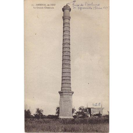 Indochine - Arsenal de l'Est - La gde cheminee