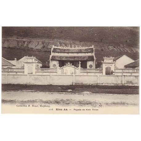 Indochine - Kien An - Pagode de Kinh Thien