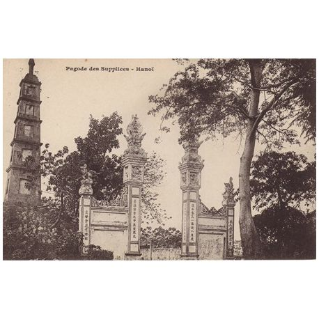 Indochine - Pagode des supplices - Hanoi