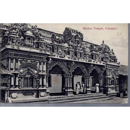 Ceylan - Hindoo Temple - Colombo