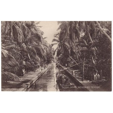 Ceylan - Negombo - Dutch Canal