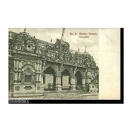 Ceylon - Hindoo Temple - Colombo - Ceylan