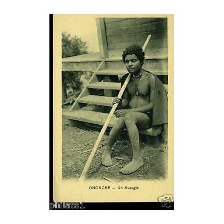 Papouasie/Nelle Guinee - Ononghe - Un aveugle