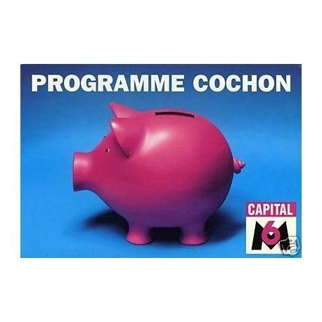 Programme cochon sur M6