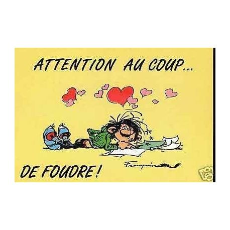 G. Lagaffe - Attention au coup...de foudre ! - Franquin