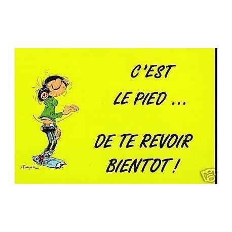 G. Lagaffe - C'est le pied de te revoir... ! - Franquin