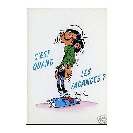 G. Lagaffe - C'est quand les vacances ? - Franquin