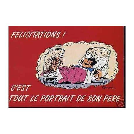 G. Lagaffe - C'est tout le portrait de son...- Franquin