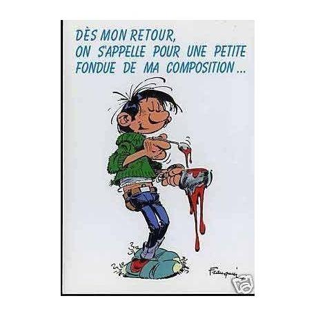 G. Lagaffe - Des mon retour on s'appelle... - Franquin