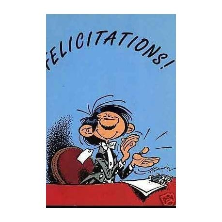 G. Lagaffe - Felicitations ! - Franquin