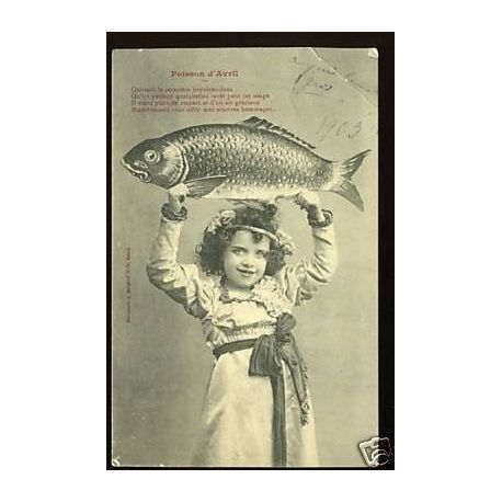 Le poisson d'Avril - Bergeret