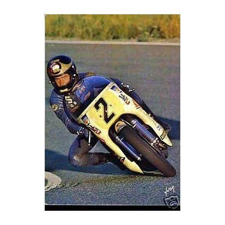 Barry Shenne sur Suzuki 750 - CPSM