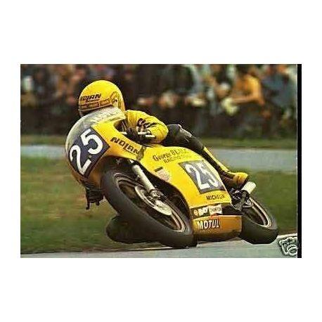 Soussan sur Yamaha a Assen 1979 - CPSM