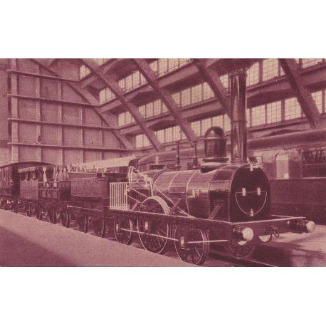 La premiere lovcomotive de 1835 - Exposition de Bruxelles