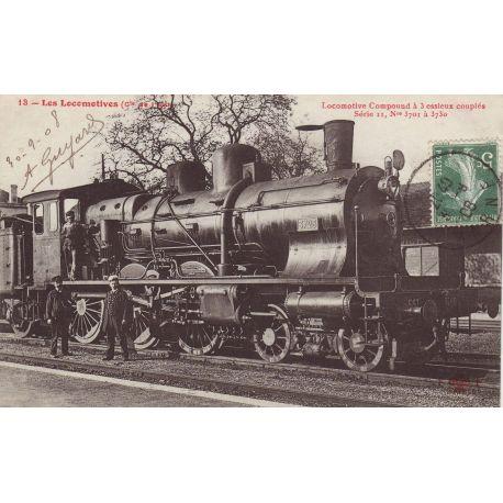 Locomotive Compound a 3 essieux couples - Serie II