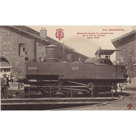 Locomotive de la Cie de l'Ouest Machine tender