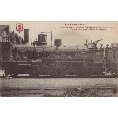 Locomotive de la Cie de l'Ouest pour trains de voyageurs