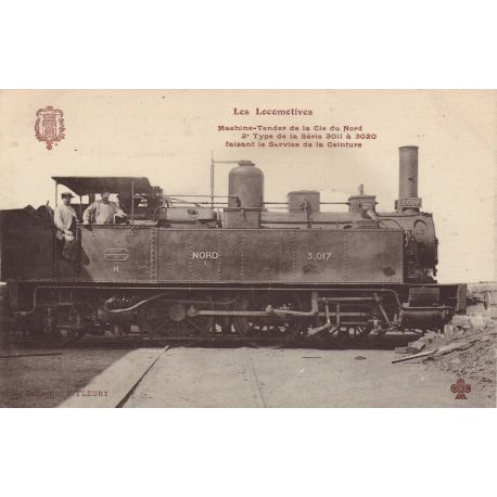 Locomotive de la Cie du Nord - Machine tender