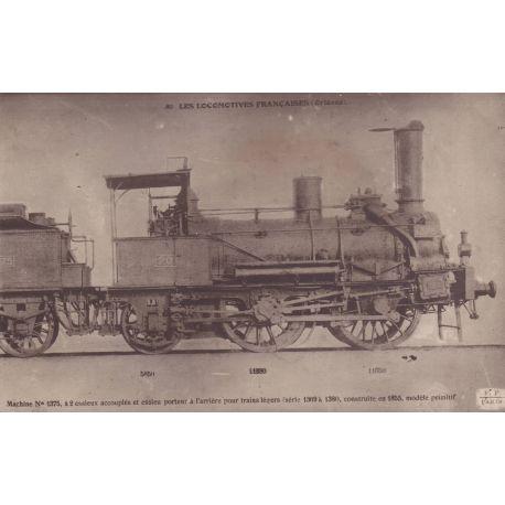 Locomotives Francaises - Orleans - Machine N° 1375