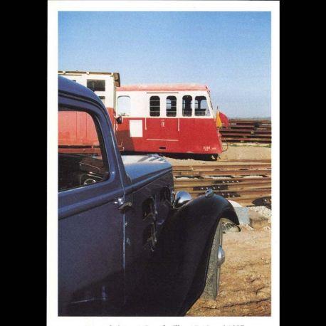 2 - Etape du 17eme tour de bretagne des vehicules anciens le 18 mai 1997 au musee du petit train des cotes du nord a Bou