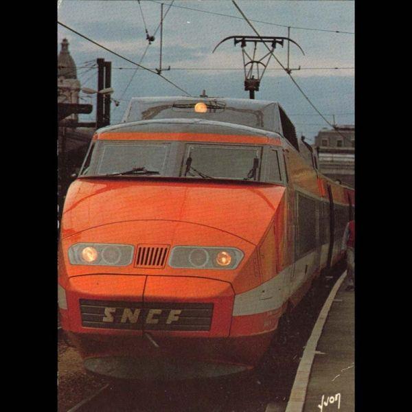 tgv record du monde de vitesse sur rail 380km h le 26 fevrier 1981 carte neuve. Black Bedroom Furniture Sets. Home Design Ideas